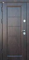 Входные металлические двери Стандарт Мира, двухцветная