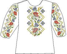 СВД-12. Заготівля для вишивки бісером Дитяча блузочка.