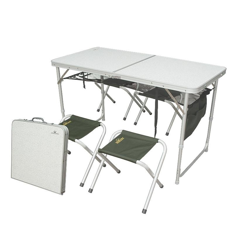 Набор мебели для пикника GC в комплекте 4 стульчика