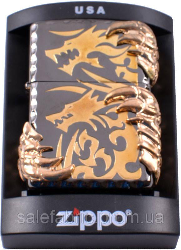 Зажигалка бензиновая Zippo Когти дракона №4210