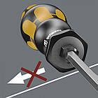 Набор ударных отверток в подставке WERA / 932/6 Rack 05018282001, фото 5