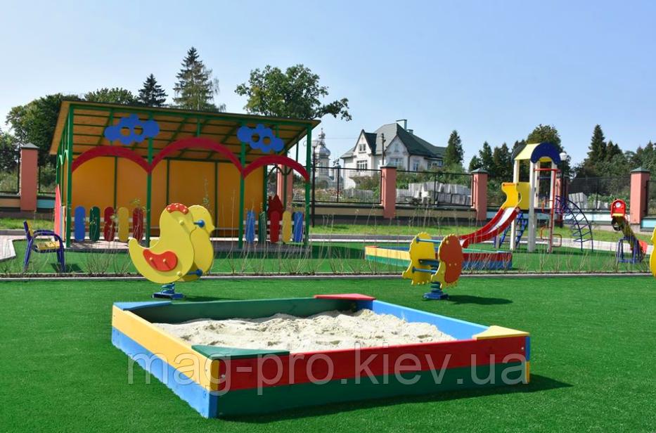 Искусственная трава для детской площадки TCH Comfort-Backing 30 мм.