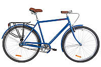 "Велосипед Dorozhnik Comfort Male 28"" синий"