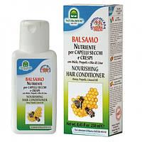 Кондиционер-бальзам с медом, прополисом и льняным маслом Natura House Nourishing Hair Conditioner