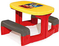 Оригинал. Детский Столик для Пикника Cars Smoby 310292