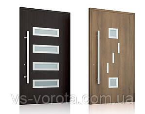 Двери алюминиевые входные WISNIOWSKI модель CREO 344 - размер 1200Х2300 мм