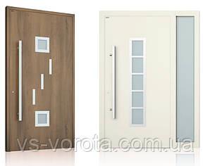 Алюминиевые двери входные WISNIOWSKI модель CREO 346 - размер 1200Х2300 мм
