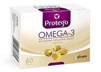 Salvum Protego Omega-3 500 , 60 капсул. Омега-3, Omega-3, рыбий жир.