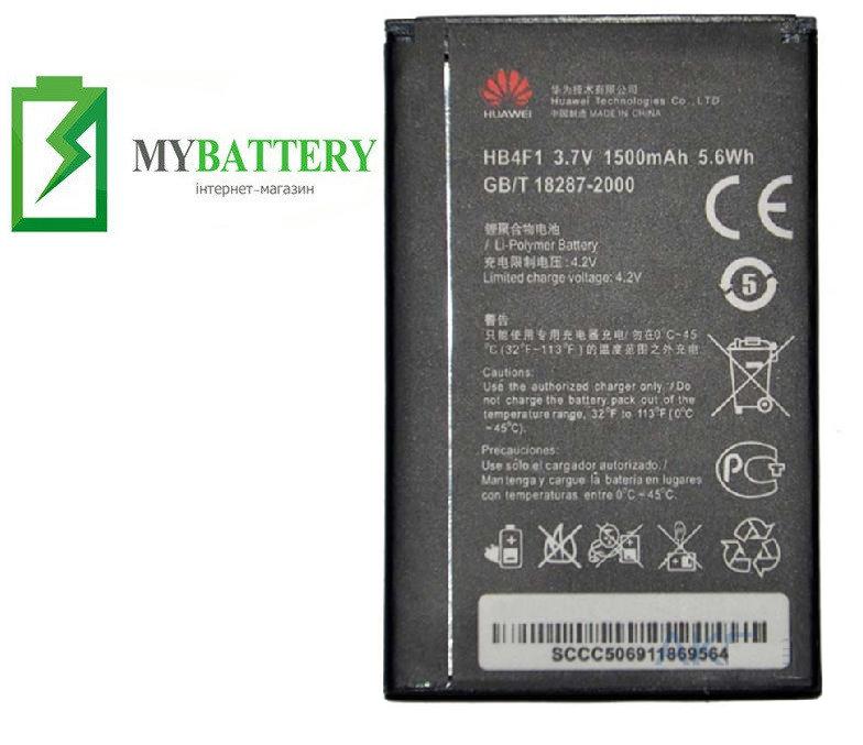 Оригинальный аккумулятор АКБ (Батарея) для Huawei U8800/ HB4F1 1500mAh 3.7V