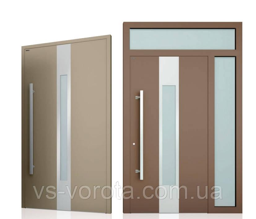 Двери алюминиевые входные WISNIOWSKI модель CREO 310 - размер 1200Х2300 мм