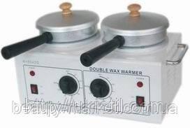 Двойной воскоплав для баночного воска 400 мл х 2; M-2042D