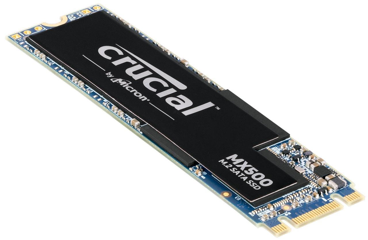SSD накопитель CRUCIAL MX500 500GB M.2 (CT500MX500SSD4)
