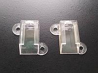 Торцевая (боковая) заглушка для накладного пластикого профиля