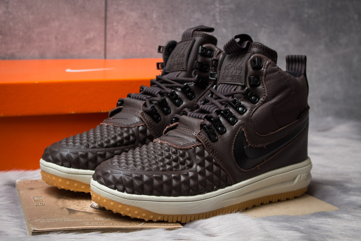Зимние кроссовки Nike LF1 Duckboot, коричневые (30914) размеры в наличии ► [  43 (последняя пара)  ]