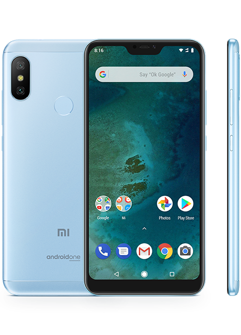 Смартфон Xiaomi Mi A2 4/32GB Blue Global Version