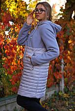 Женская осенняя удлиненная  куртка 2019 Агния  Nui Very (Нью вери), фото 3
