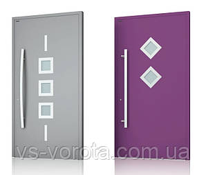 Двери алюминиевые входные WISNIOWSKI модель CREO 341 - размер 1200Х2300 мм