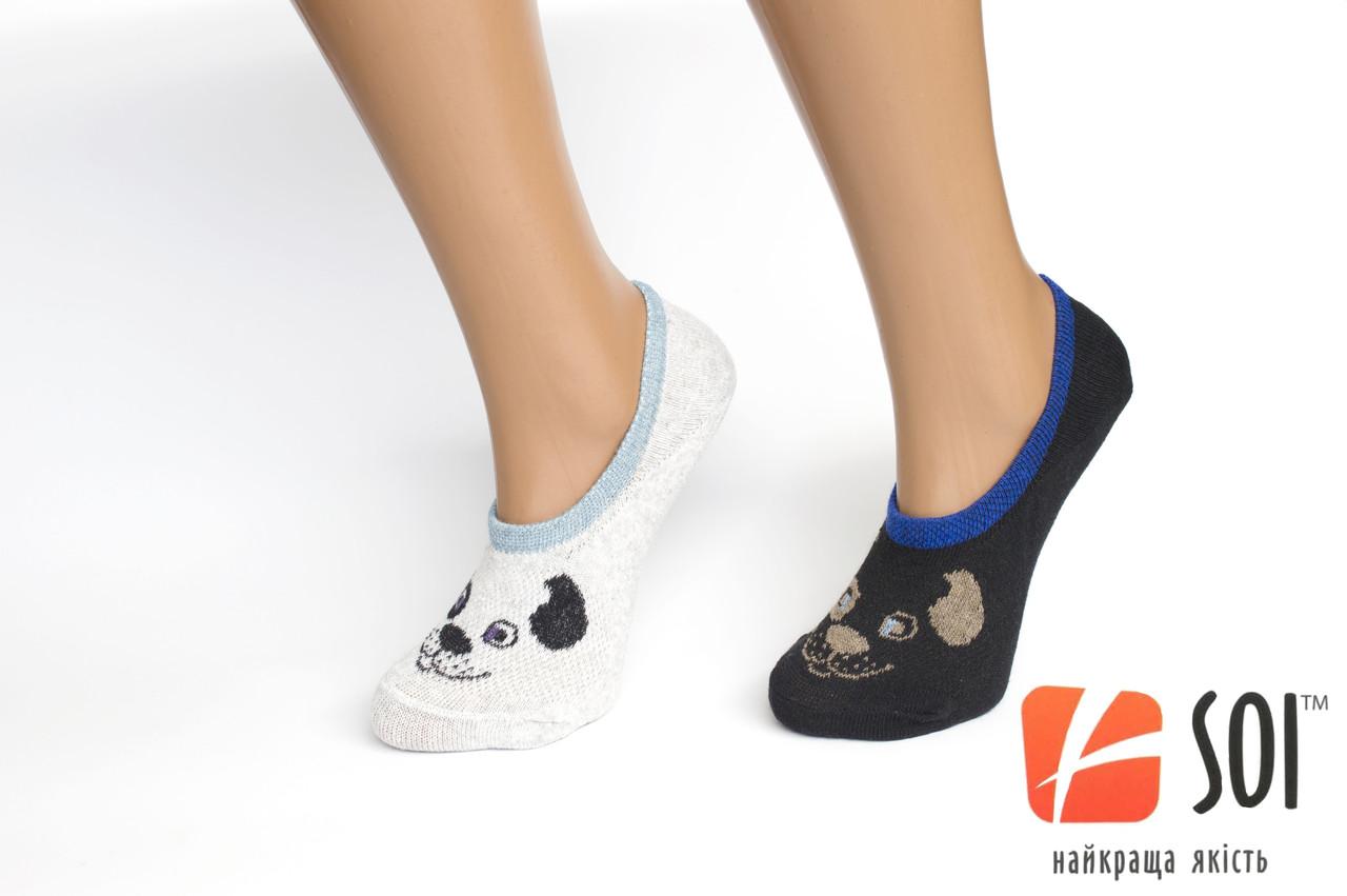 Шкарпетки короткі жіночі SOI Слід чешка 23-25 р. (36-40)