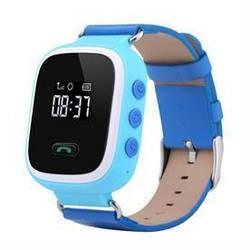 Детские умные часы телефон Q60 с GPS розовые, голубые, оранжевые