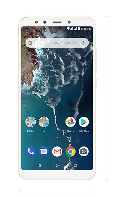 Смартфон Xiaomi Mi A2 4/64GB Gold Global Version