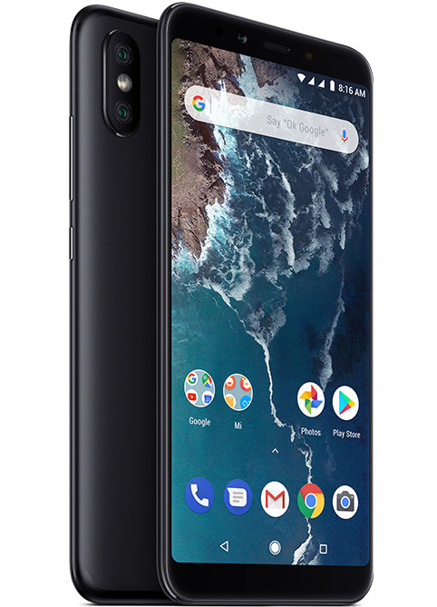 Смартфон Xiaomi Mi A2 6/128GB Black Global Version