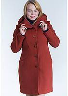 Пальто женское №17 (рыжий)