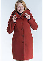 Пальто жіноче №17 (рудий)