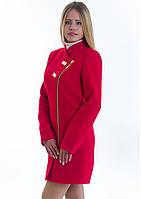 Пальто женское №12 (красный), фото 1