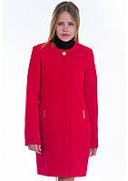 Пальто женское №11 (красный), фото 1