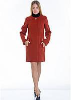 Пальто женское №11 (рыжий), фото 1
