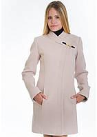 Пальто женское №8 (бежевый), фото 1