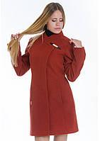 Пальто женское №8 (рыжий), фото 1