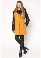 Пальто женское №42 (горчица), фото 1