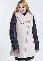 Пальто жіноче №42/1 (бежевий), фото 1