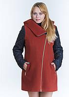 Пальто женское №42/1 (рыжий)