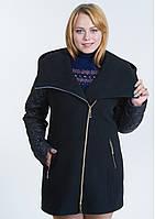 Пальто женское №42/1 (чёрный)