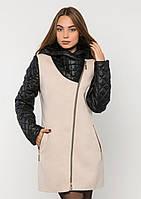 Пальто женское №43 ЗИМА (бежевый)