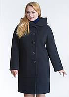 Пальто женское №21 ЗИМА (чёрный), фото 1