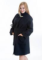 Пальто жіноче №20 (чорний), фото 1