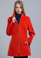 Пальто жіноче №2 (помаранчевий), фото 1