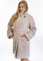 Пальто женское №20 (бежевый), фото 1