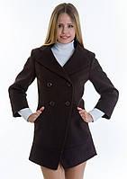 Пальто женское №16 (шоколад), фото 1