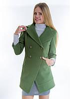 Пальто женское №16 (зелёный), фото 1