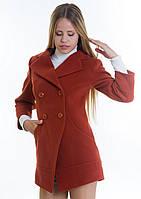 Пальто женское №16 (рыжий), фото 1