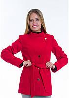 Пальто женское №13 (красный), фото 1