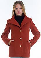 Пальто женское №13 (рыжий), фото 1