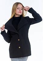 Пальто женское №13 (чёрный), фото 1