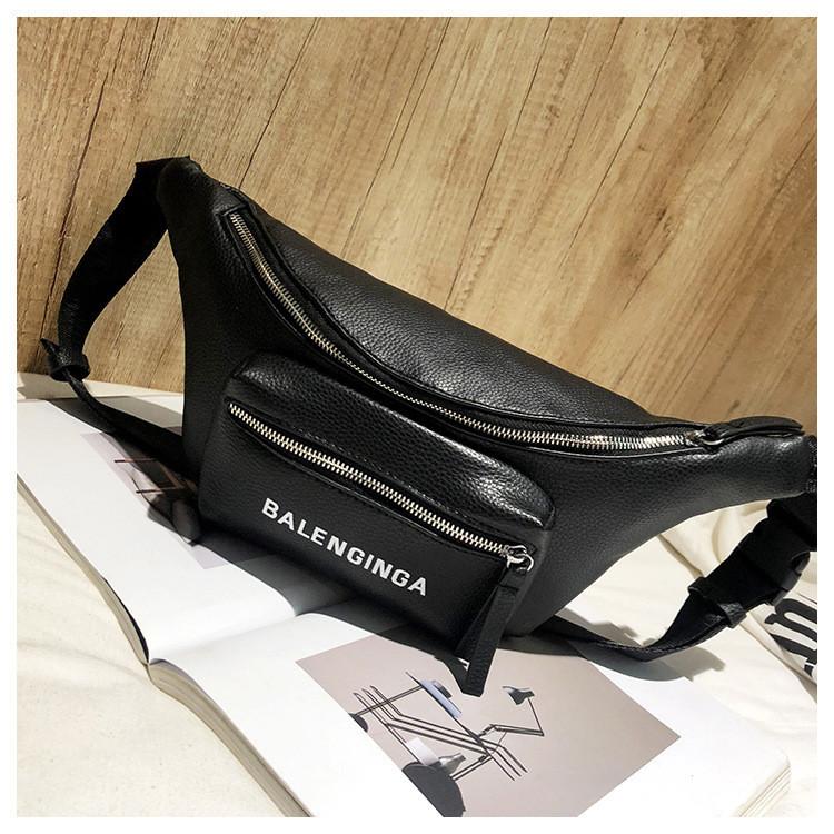 a1e9cafffbd406 Женская поясная сумка бананка черная, купить по выгодной цене в ...