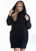 Пальто женское №14 (черный), фото 1