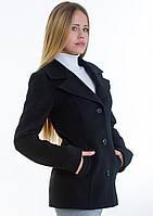 Пальто женское №15 (черный), фото 1